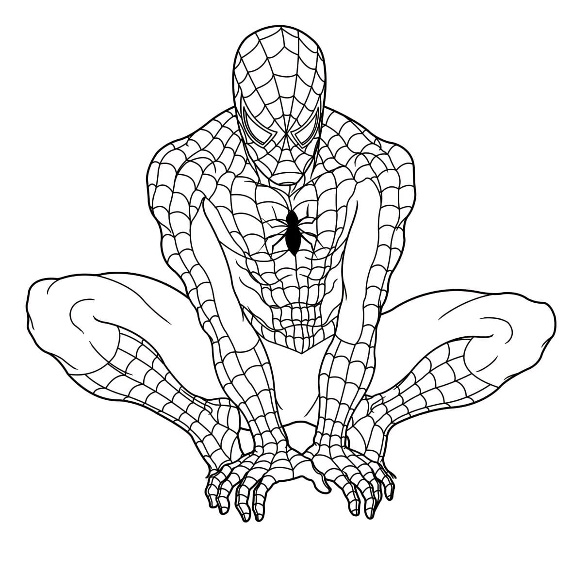 20 Printable Spiderman Coloring Pages Collections | FREE COLORING ...