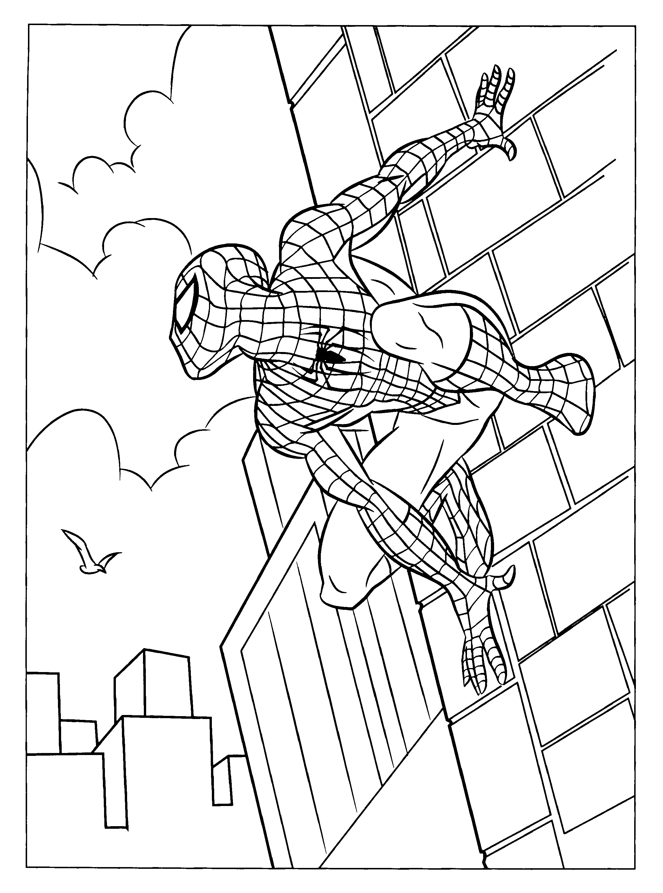 picture regarding Free Printable Spiderman Coloring Pages titled 20 Printable Spiderman Coloring Web pages Collections Cost-free
