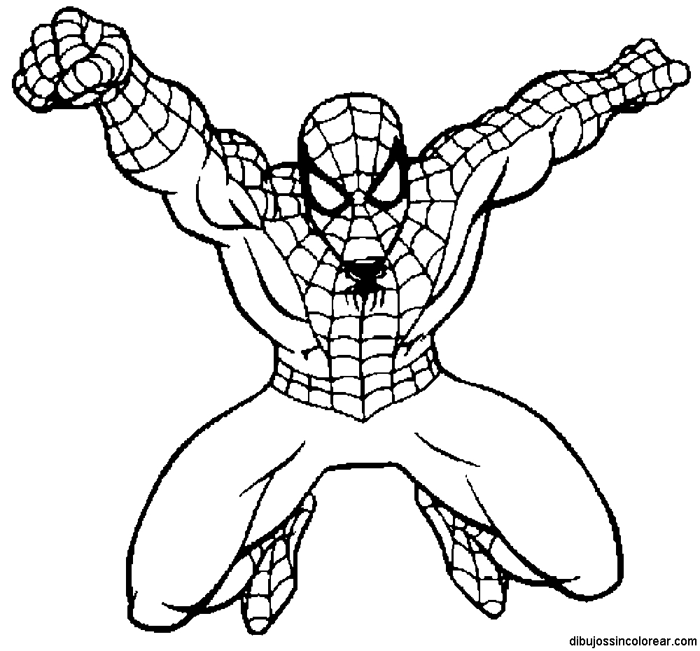 printable spiderman coloring pages - spiderman coloring pages