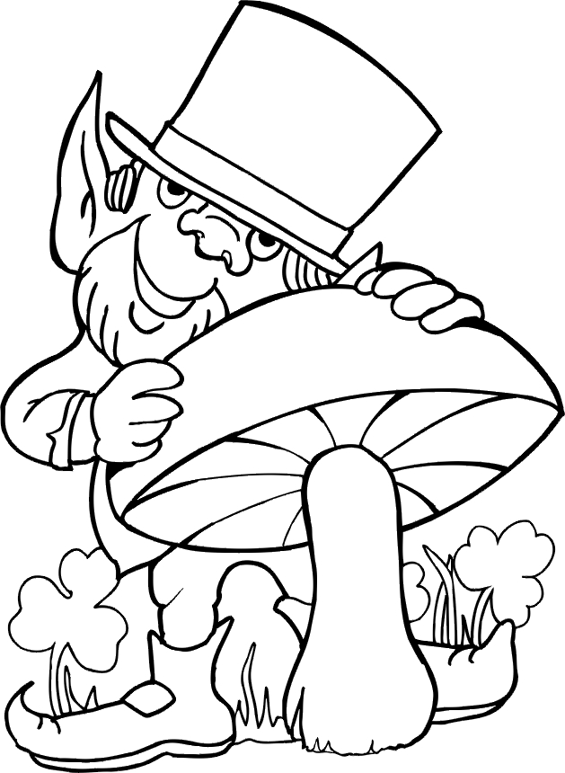 printable st patrick's day coloring pages - printable st patricks day coloring pages