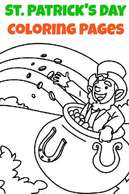 21 Printable St Patrick\'s Day Coloring Pages Selection   FREE ...