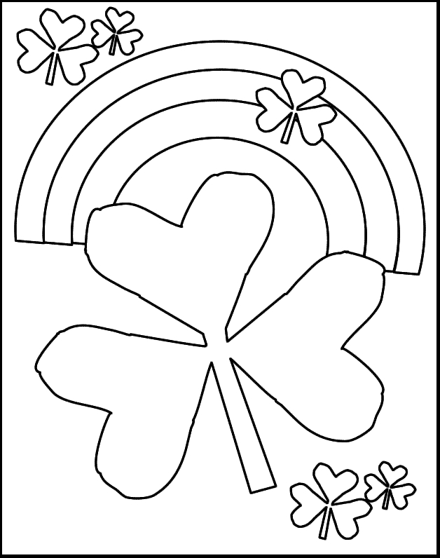 21 Printable St Patrick's Day Coloring Pages Selection ...