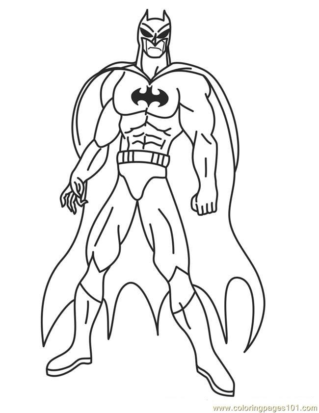 printable superhero coloring pages - printable superhero coloring
