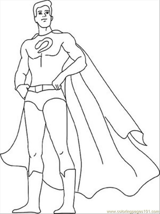 printable superhero coloring pages - superhero coloring printables