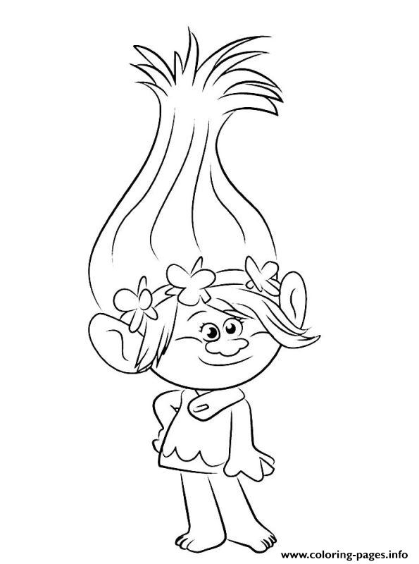 printable trolls coloring pages - trolls 2016 printable coloring pages book