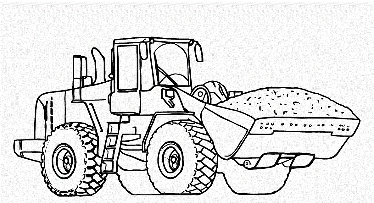 printable truck coloring pages - dump truck coloring pages