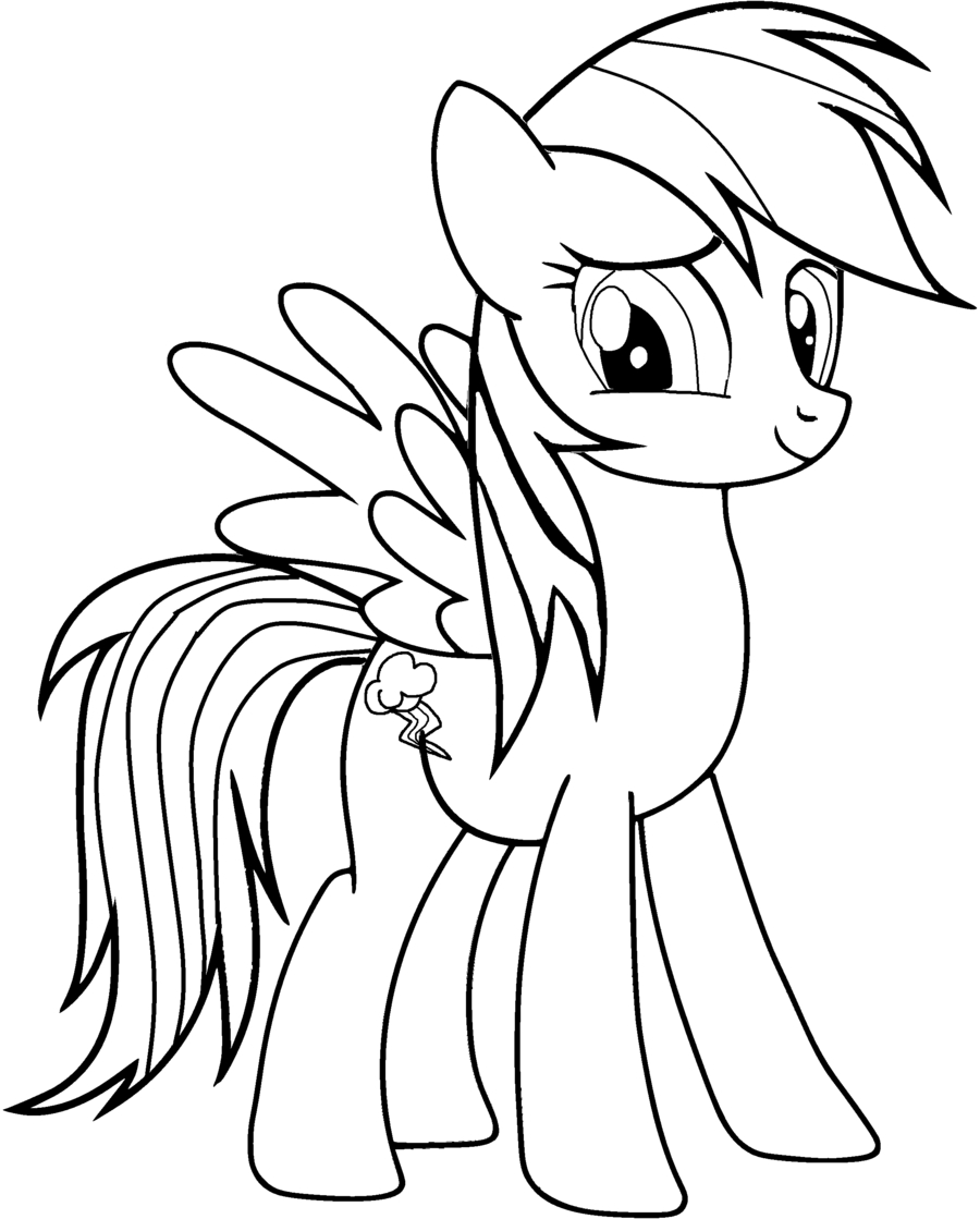 printable unicorn coloring pages - unicorn rainbow coloring pages