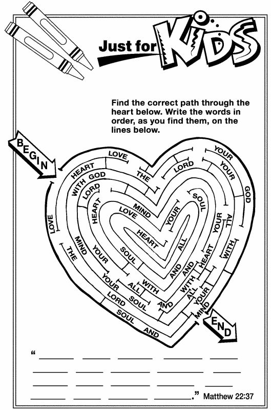 printable valentines coloring pages - jesus loves the little children