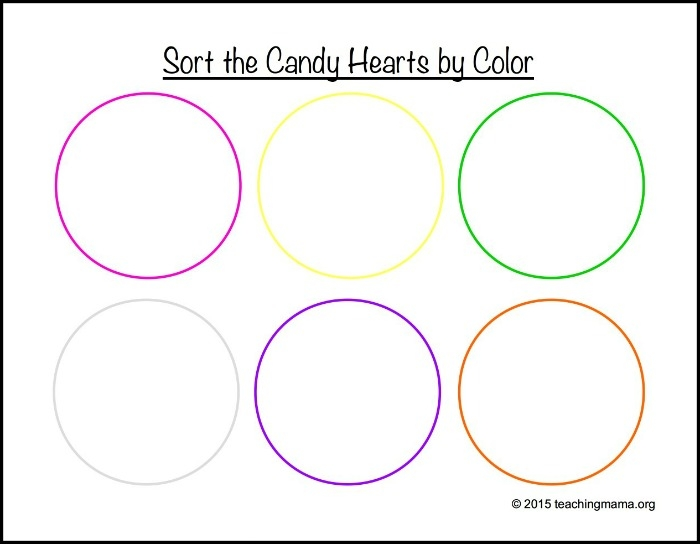 printable valentines coloring pages - candy heart math printables
