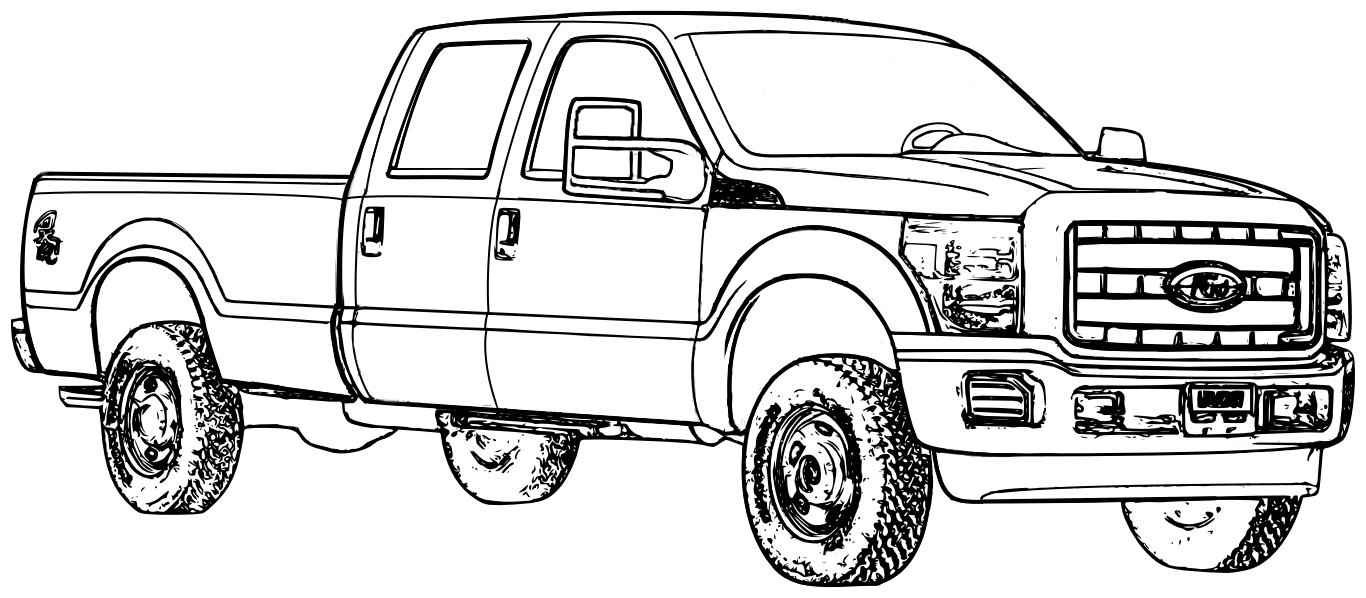 printable valentines coloring pages - car and truck coloring page coloring pages cars and trucks cars and trucks coloring pages