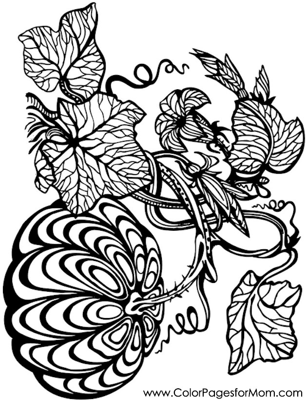 pumpkin coloring pages for adults - halloween3tml