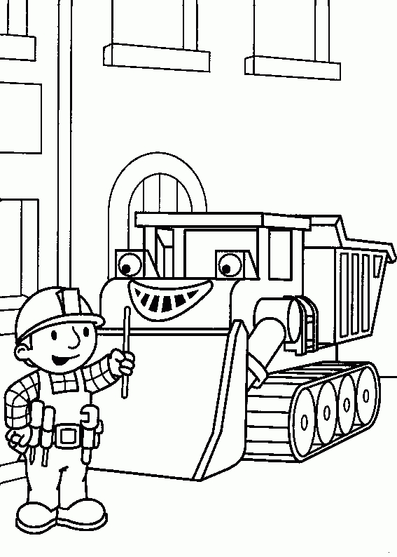 pumpkin patch coloring pages - bagger 2