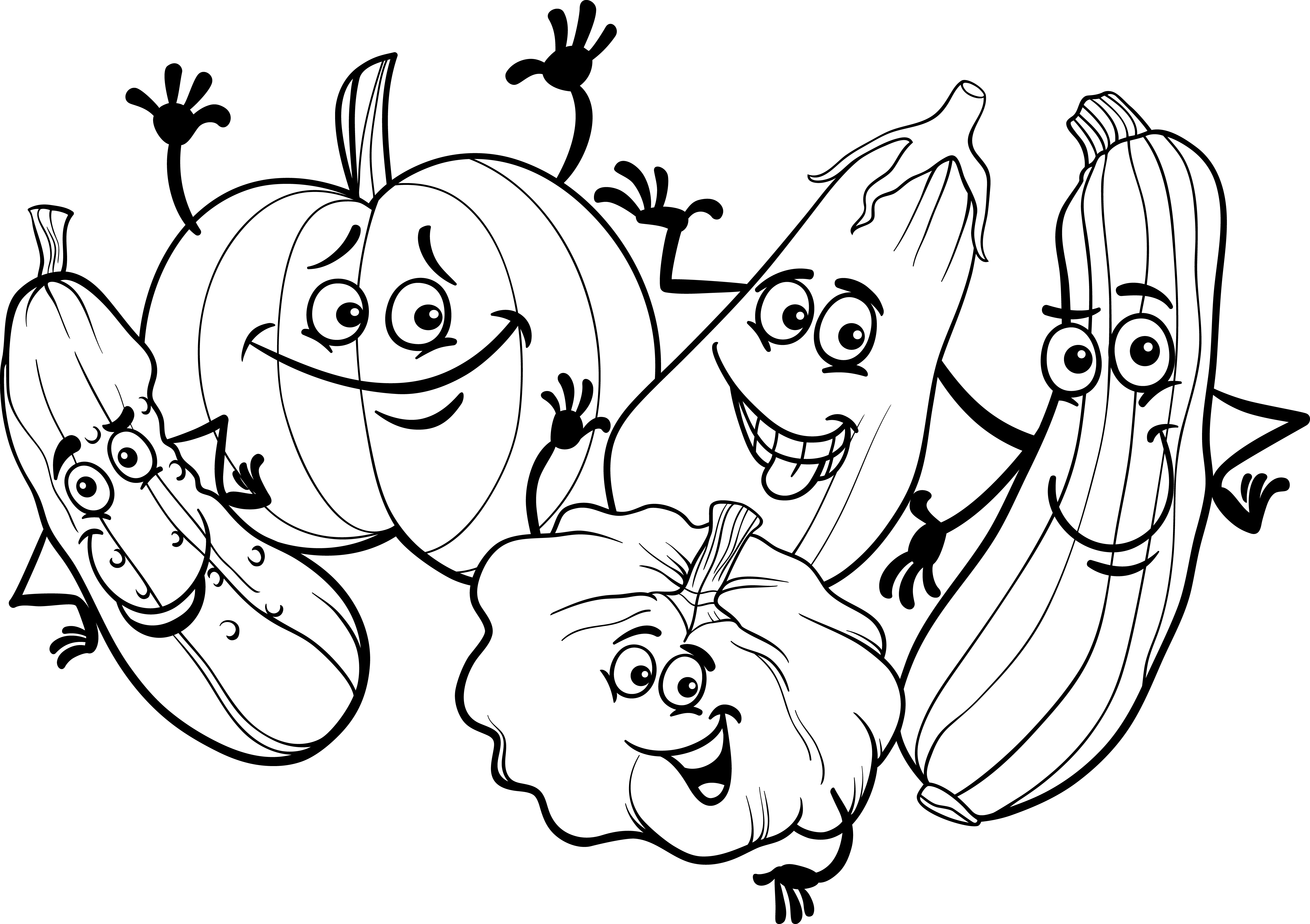 21 Pumpkin Patch Coloring Pages Compilation | FREE COLORING PAGES ...