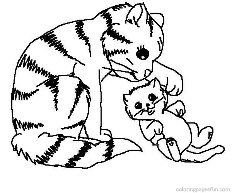 puppy and kitten coloring pages - coloring pages puppies and kittens