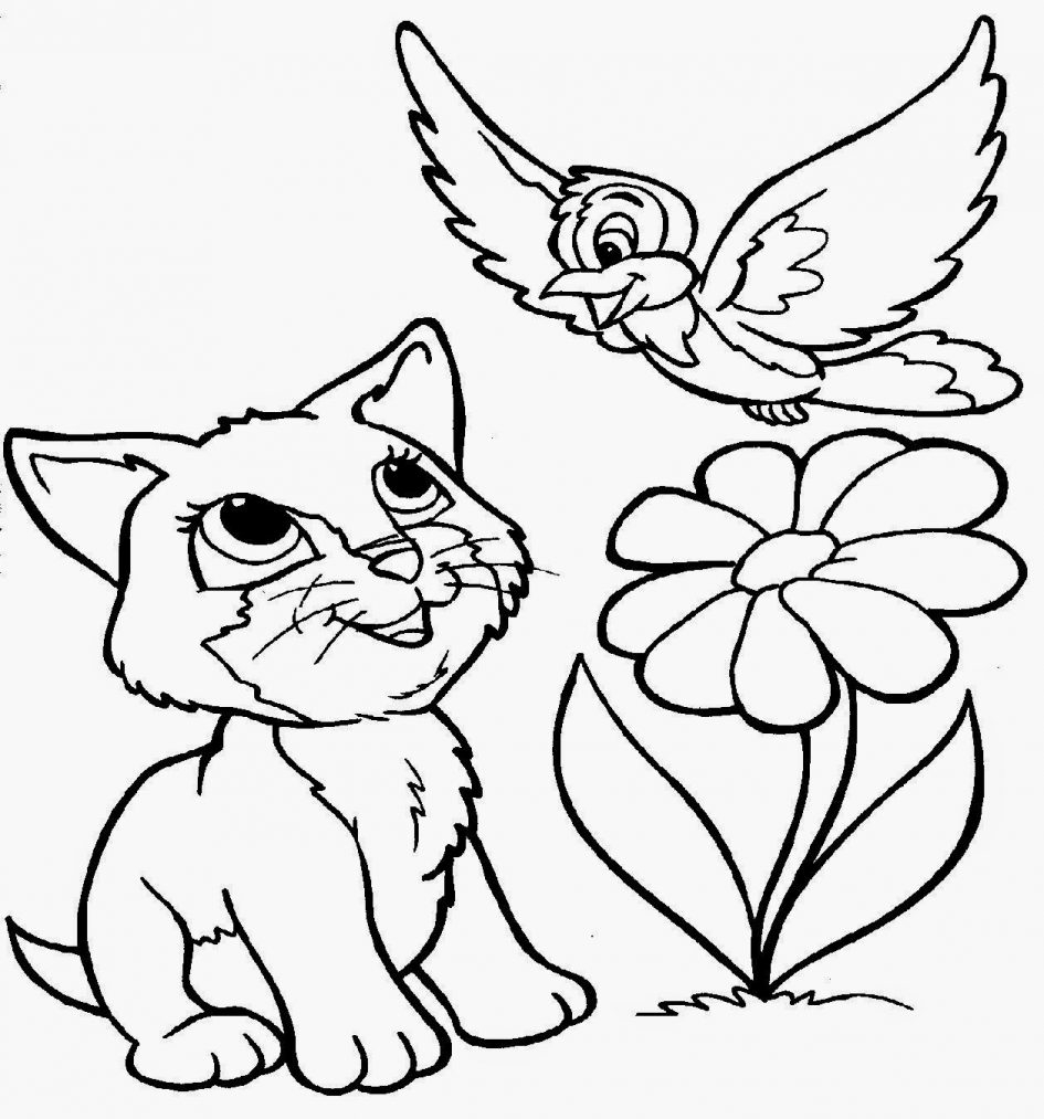 21 Puppy and Kitten Coloring Pages Images   FREE COLORING PAGES - Part 3