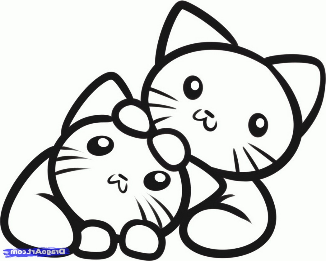 21 Puppy and Kitten Coloring Pages Images | FREE COLORING PAGES - Part 2