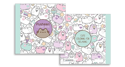 Pusheen Cat Coloring Pages - New Pusheen Coloring Book • Hauspanther