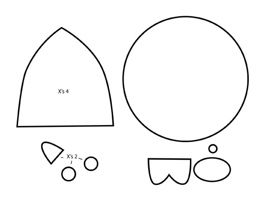 pusheen coloring pages - how to make kawaii chubby mamegoma