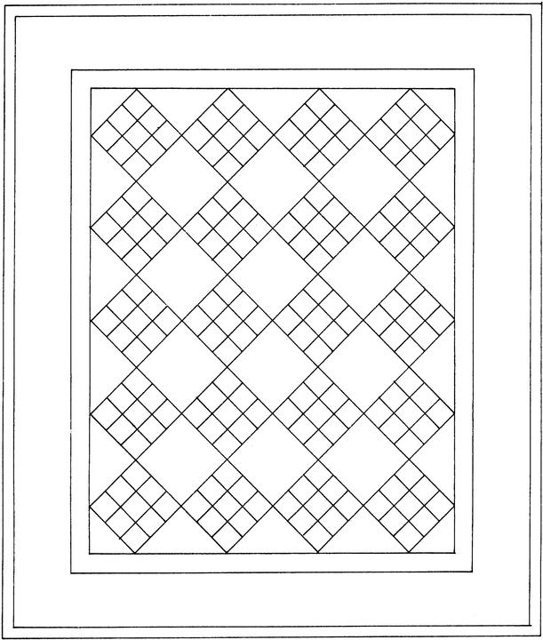 quilt coloring pages - q=a quilt