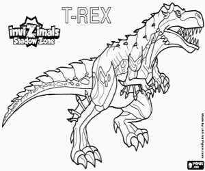 quiver coloring pages - disegni invizimals le creature ombra da colorare