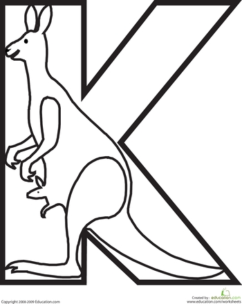 quiver coloring pages - playgroup activity animal alphabet