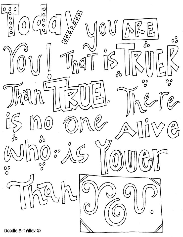 Quote Coloring Pages - Quotes Coloring Pages Cute Quotesgram