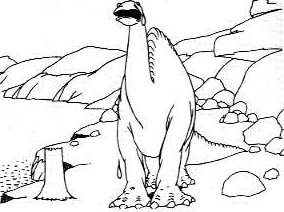 r rated coloring pages - Gertie the Dinosaur