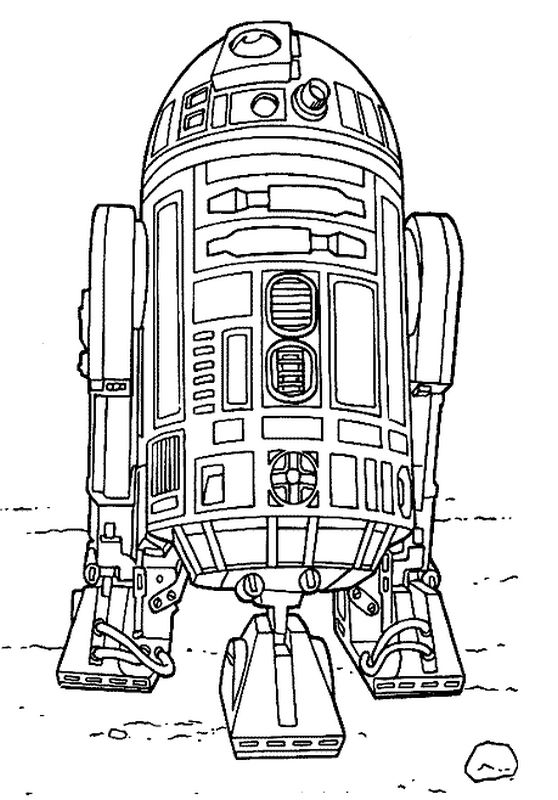 r2d2 coloring pages - img id img=7936