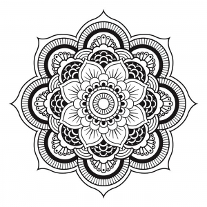 R2d2 Coloring Pages - Mandalas Coloring Pages for Adults Page 4