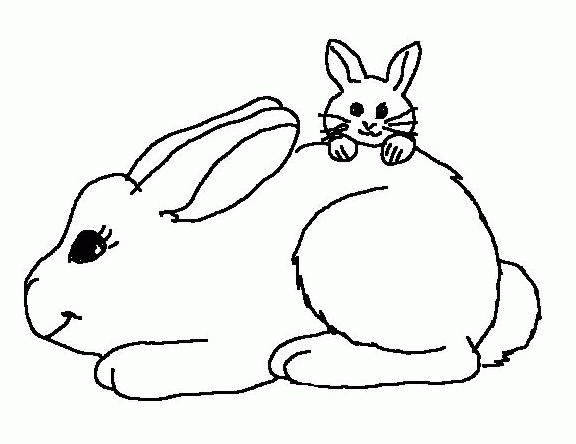 20 Rabbit Coloring Pages Selection | FREE COLORING PAGES - Part 3