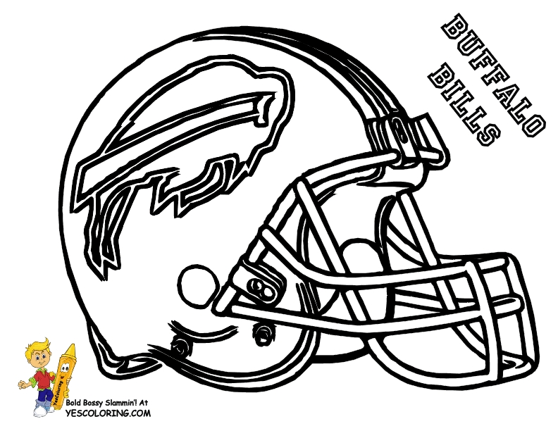 Raiders Coloring Pages - Big Stomp Afc Football Helmet Coloring