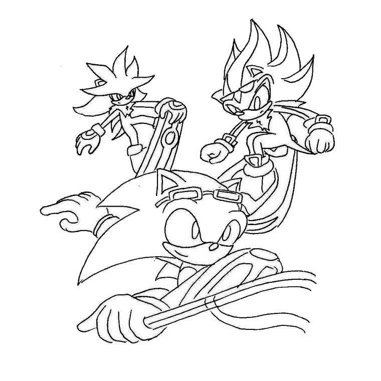 Raiders Coloring Pages - sonic Riders Coloring Pages Az Coloring Pages