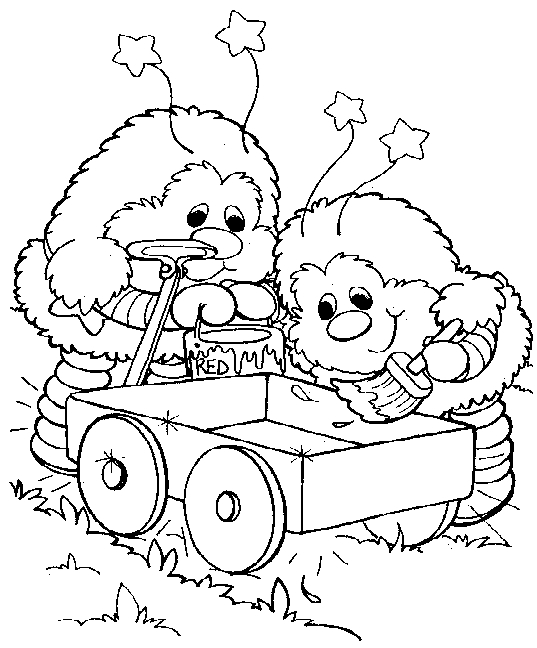 Rainbow Brite Coloring Pages - Rainbow Brite Coloring Pages Coloringpagesabc