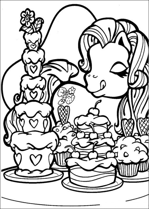 rainbow coloring page -