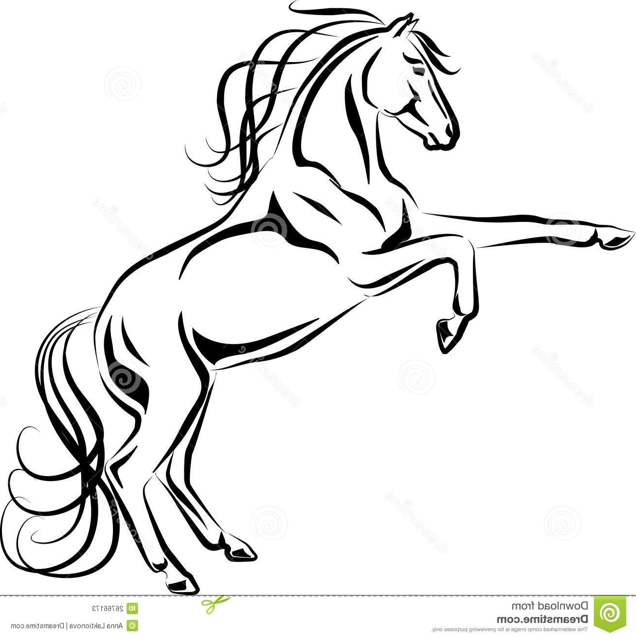 rainbow fish coloring page - horse head silhouette coloring page vector set of horse head silhouette different horse haircut type