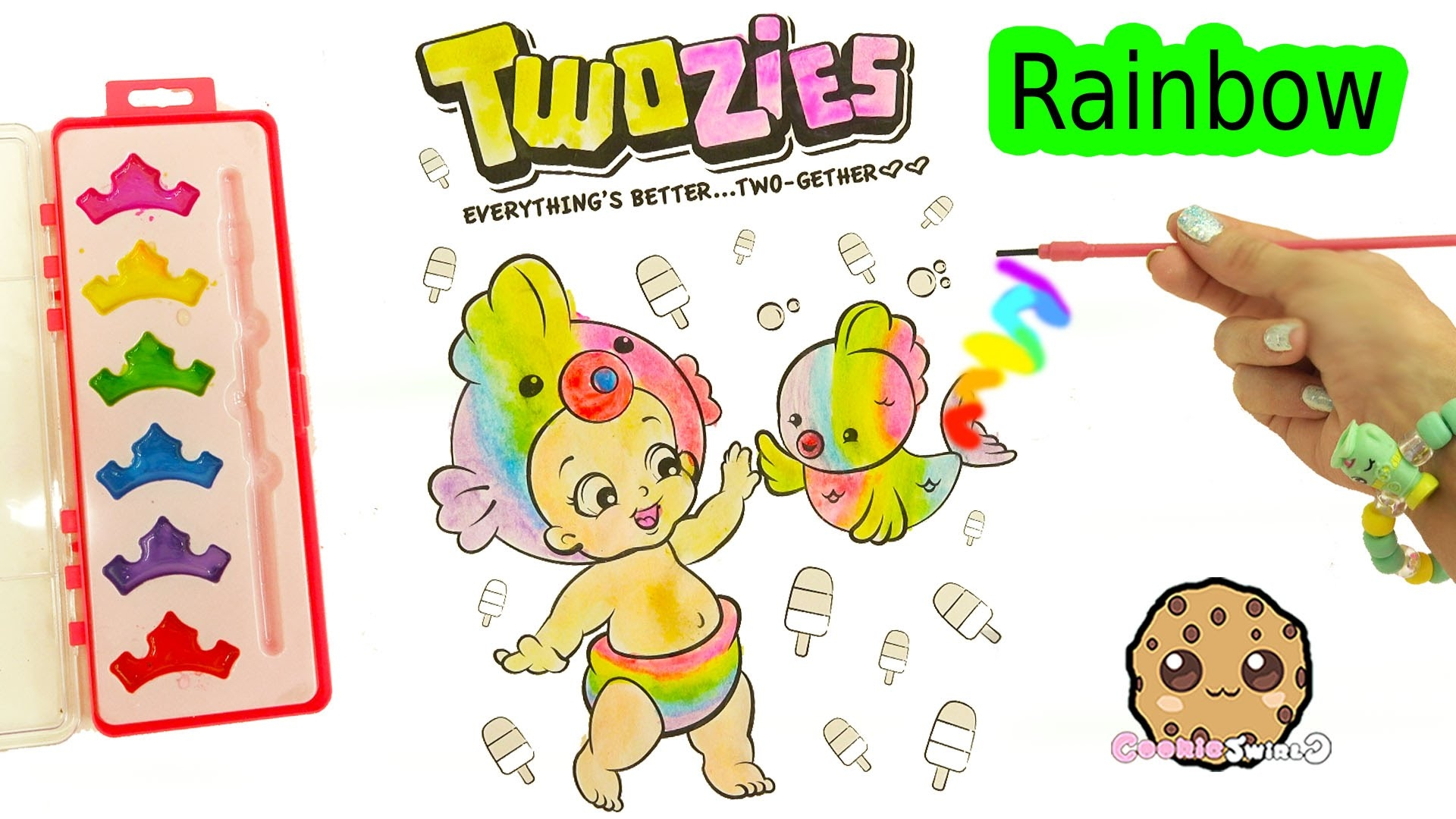 rainbow fish coloring page - watch v=4dq0ZPP4Tbk