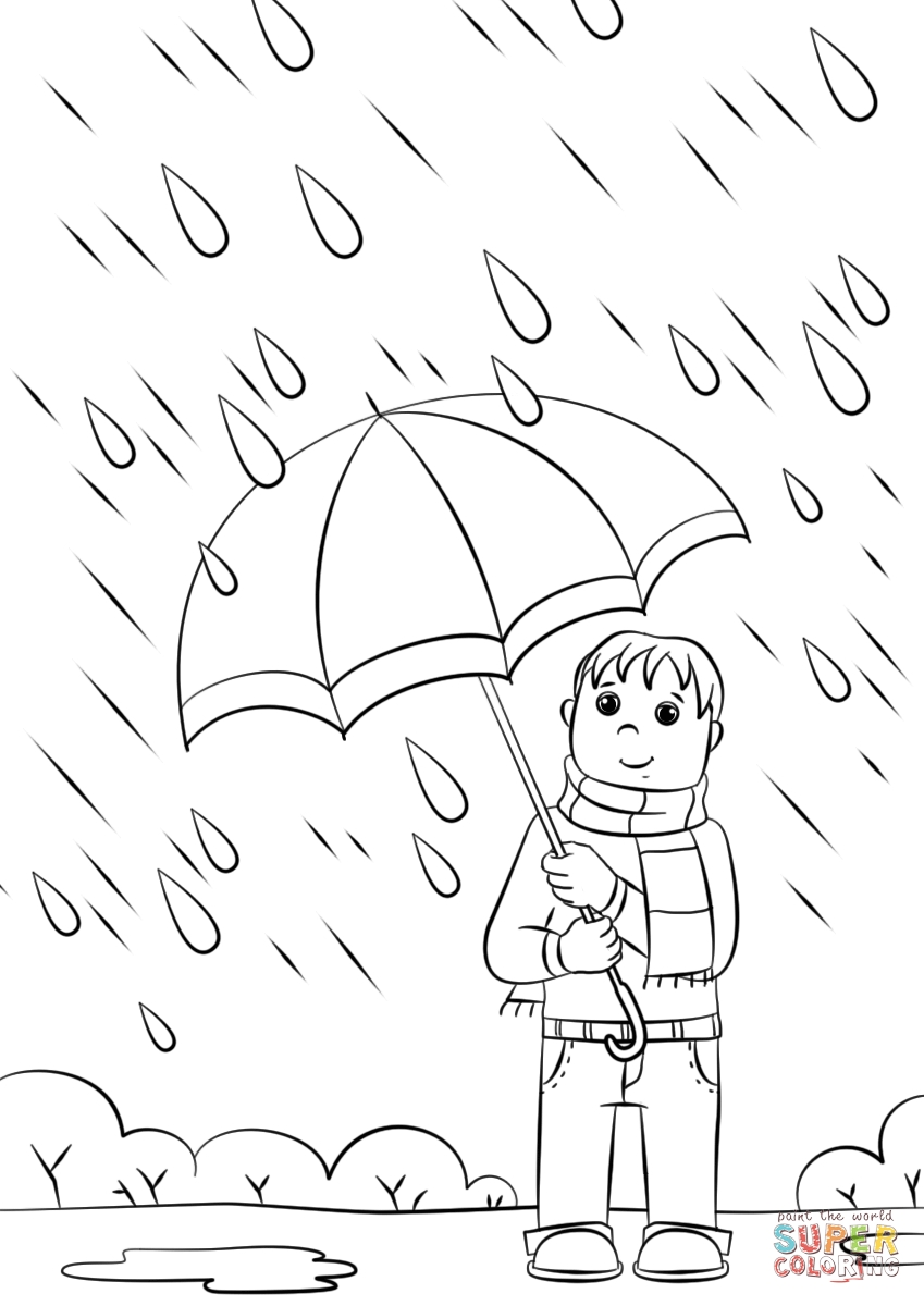 24 Raindrop Coloring Page Pictures | FREE COLORING PAGES - Part 3