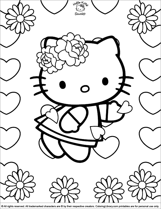 rainy day coloring pages - page 870