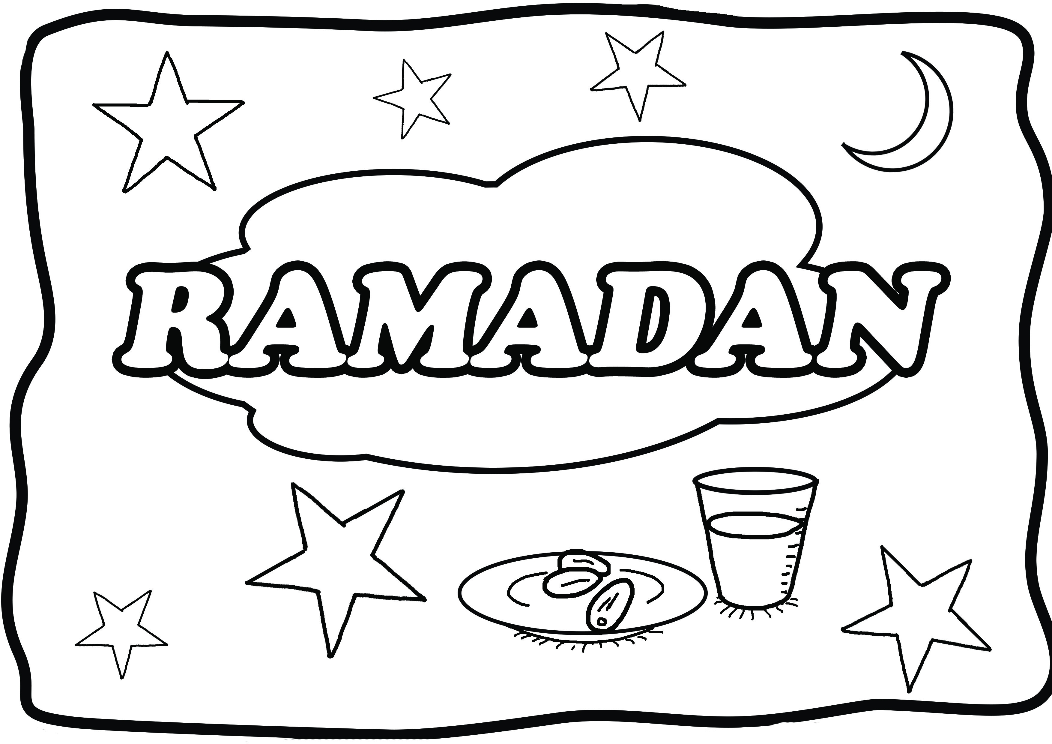 ramadan coloring pages - coloring pages for ramadan