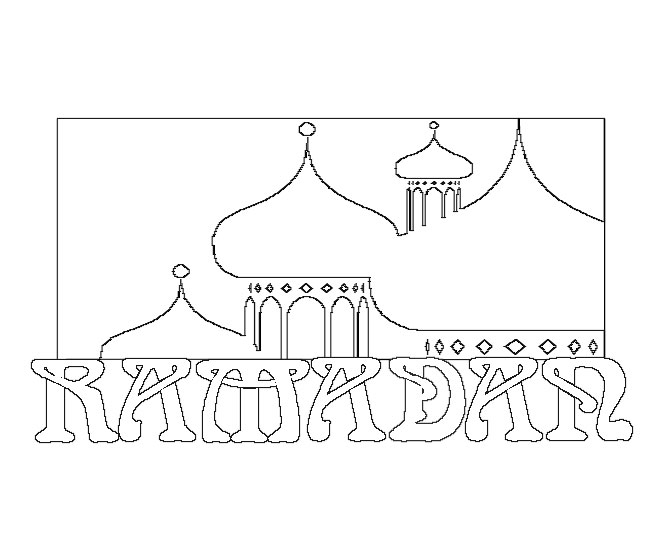 ramadan coloring pages - 4