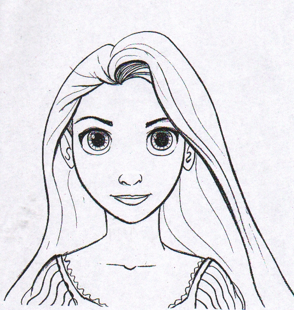 rapunzel coloring pages - q=rapunzel 12