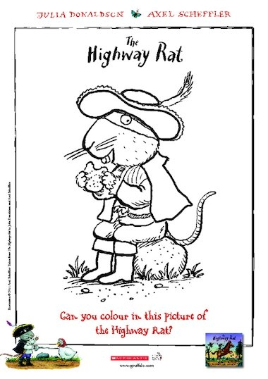 rat coloring pages -