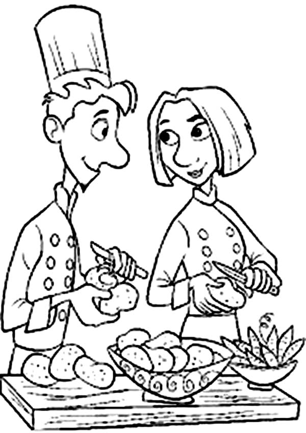 24 Ratatouille Coloring Pages Images