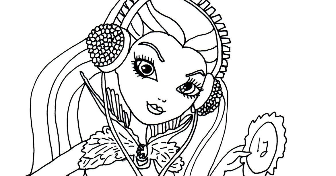 raven coloring pages - free printable raven queen coloring page