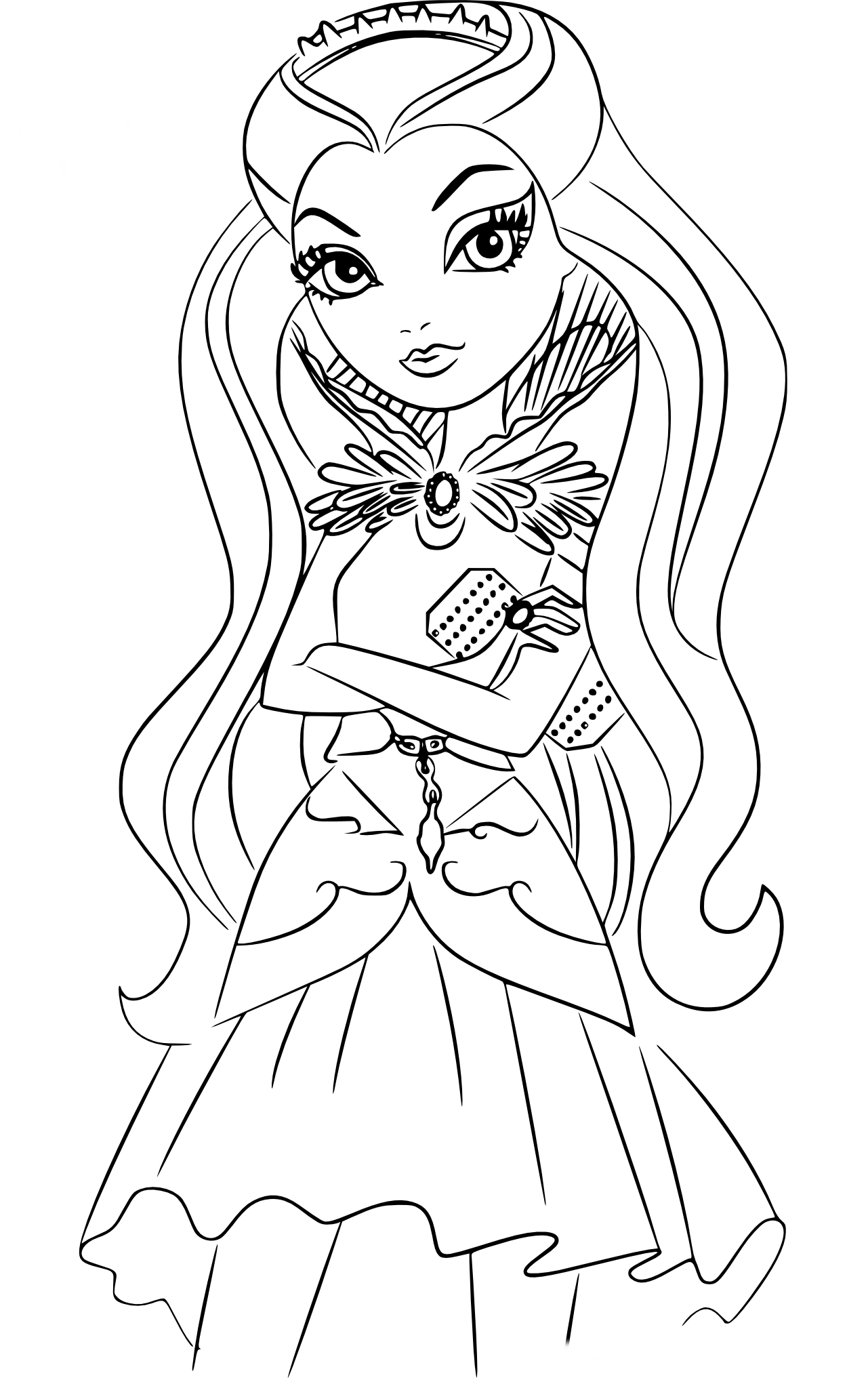 Raven Coloring Pages - Raven Coloring Pages Coloring Pages