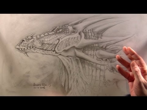 realistic dragon coloring pages - watch v=jYUjTD8hTjs