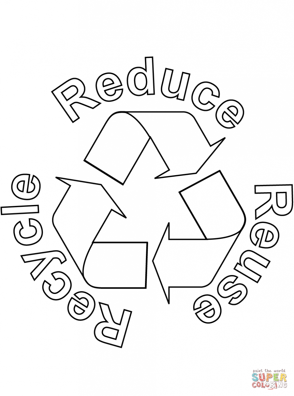 recycling coloring pages - recycling coloring pages