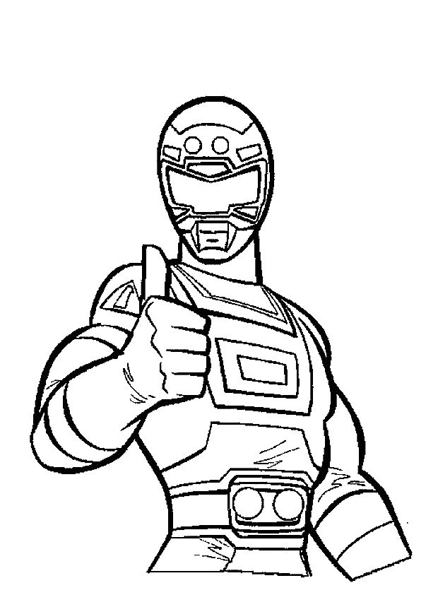 red power ranger coloring page - red power ranger coloring pagestml