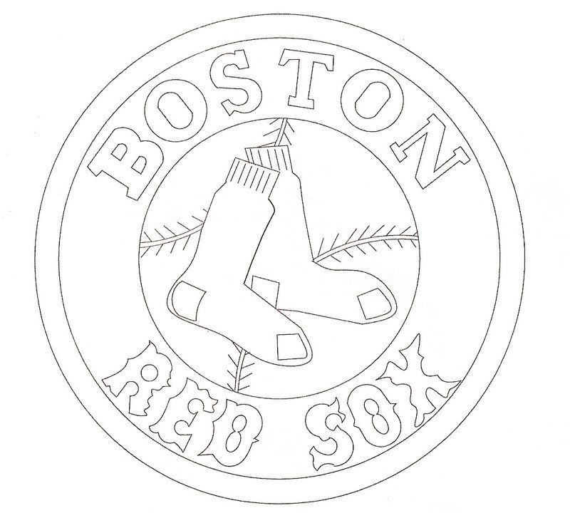 red sox coloring pages - boston red sox coloring pages
