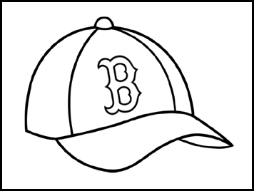 red sox coloring pages - boston red sox